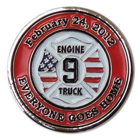 firefighter custom challenge coins